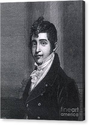 Nathan Appleton (1779-1861) Canvas Print by Granger