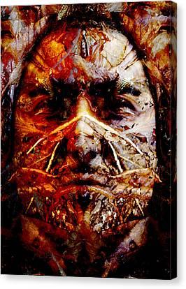 Native Spirit Canvas Print by Christoher Gaston