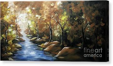 Nature Beauty 3 Canvas Print by Uma Devi