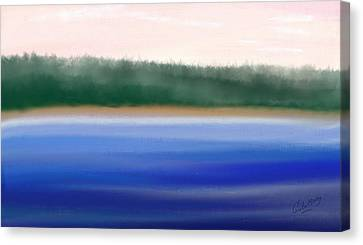 Nature Untouched Canvas Print by Gina Lee Manley