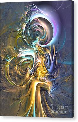 Natures Magic Trick Canvas Print by Sipo Liimatainen