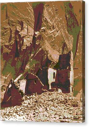 Navaho Antelope Ruin Canvas Print by Padre Art