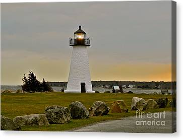 Ned's Point Lighthouse Canvas Print by Nick Korstad