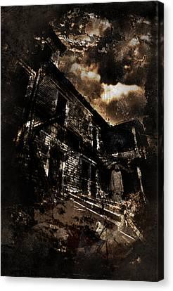 Neighbor Canvas Print by Torgeir Ensrud