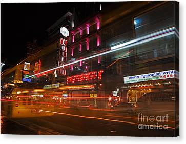 Neon Madness II Canvas Print by Pete Reynolds