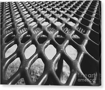 Net Canvas Print by Andrea Anderegg