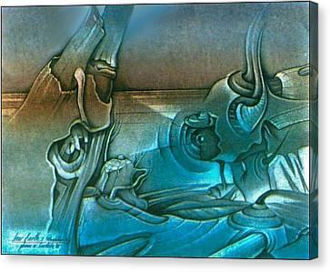 New Earth1 1992 Canvas Print by Glenn Bautista