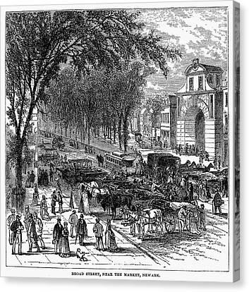New Jersey: Newark, 1876 Canvas Print by Granger