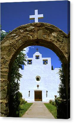 New Mexico Mission Canvas Print by Jerry McElroy