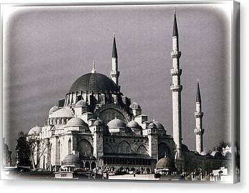 New Mosque Canvas Print by Joan Carroll