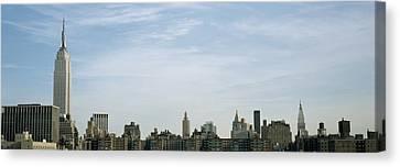 New York City Skyline Canvas Print by Axiom Photographic