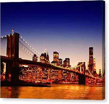 New York Cityscape Canvas Print by ©jesuscm