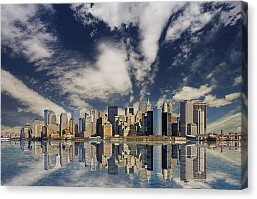 New York Canvas Print by Marcel Schauer