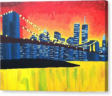 New York State Of Mind Canvas Print by Tiffany King
