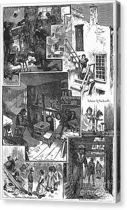 New York: Tenement, 1879 Canvas Print by Granger