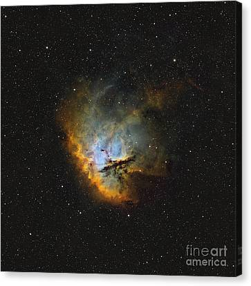 Ngc 281, The Pacman Nebula Canvas Print by Rolf Geissinger