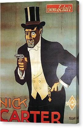 Nick Carter Canvas Print by Georgia Fowler