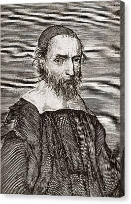 Nicolas Fabri De Peiresc, Astronomer Canvas Print by Middle Temple Library