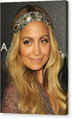 Nicole Richie At A Public Appearance Canvas Print by Everett