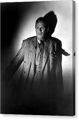 Night And The City, Richard Widmark Canvas Print by Everett