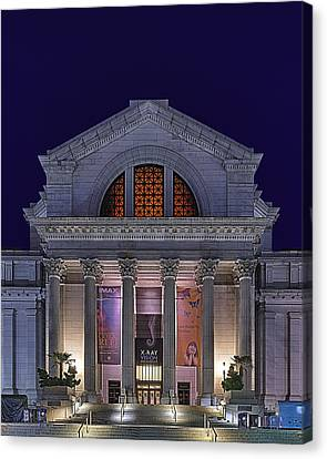 Night At The Museum Canvas Print by Metro DC Photography