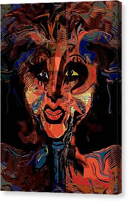 Night Creature Canvas Print by Natalie Holland