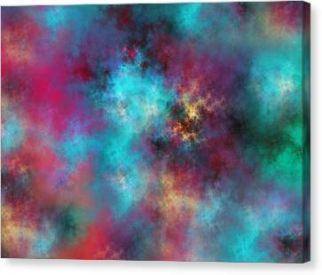 Night Sky Canvas Print by Betsy C Knapp