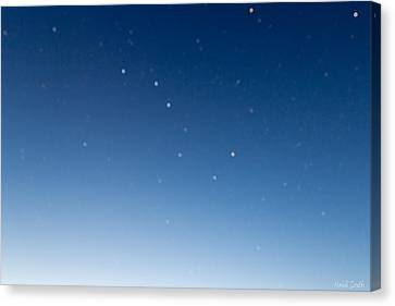 Night Sky Canvas Print by Heidi Smith