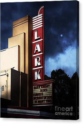 Nightfall At The Lark - Larkspur California - 5d18482 Canvas Print by Wingsdomain Art and Photography