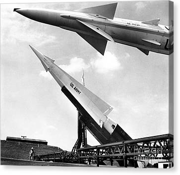 Nike Missile, C1959 Canvas Print by Granger