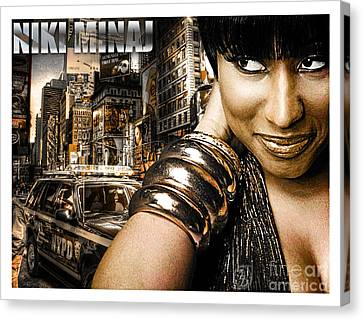 Niki Canvas Print by The DigArtisT