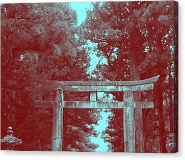 Nikko Gate Canvas Print by Naxart Studio