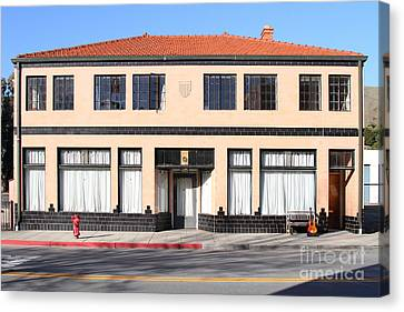 Niles California Banquet Hall . 7d12736 Canvas Print by Wingsdomain Art and Photography