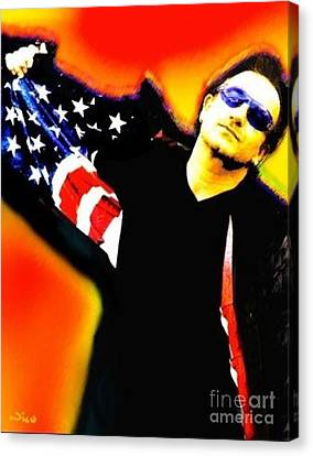 Nixo Bono Canvas Print by Nicholas Nixo