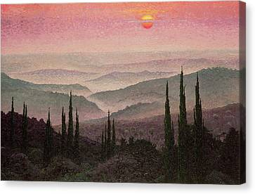 No. 126 Canvas Print by Trevor Neal