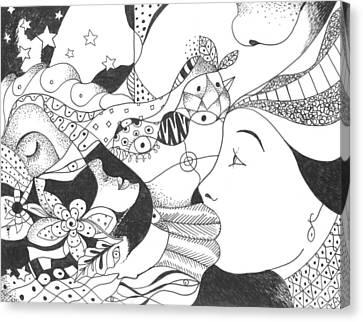 No Ordinary Dream Canvas Print by Helena Tiainen