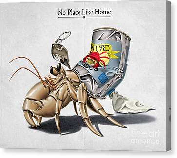 No Place Like Home Canvas Print by Rob Snow
