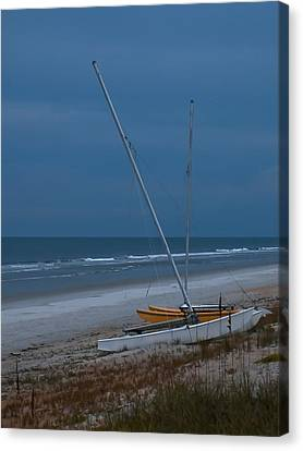 No Sailing Today Canvas Print by DigiArt Diaries by Vicky B Fuller