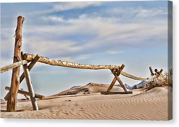No Trespassing Canvas Print by Heather Applegate