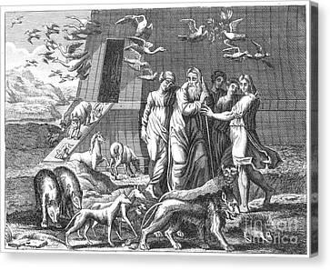 Noah Leaving The Ark Canvas Print by Granger