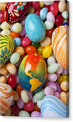 North America Easter Egg Canvas Print by Garry Gay