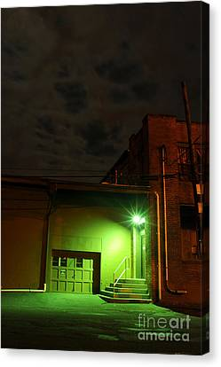 Northampton At Night Canvas Print by HD Connelly