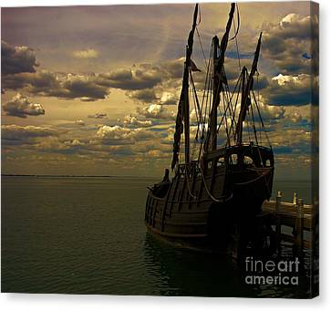 Notorious The Pirate Ship Canvas Print by Blair Stuart