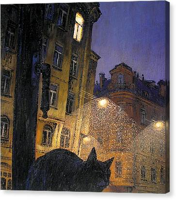 November Canvas Print by Aleksey Zuev