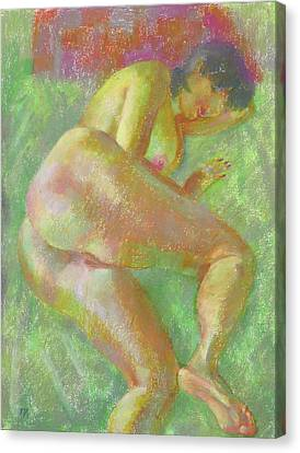 Nu 103 Canvas Print by Leonid Petrushin