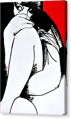 Nu 201 Canvas Print by Igor Nelubovich