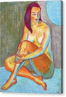 Nu 3 Canvas Print by Leonid Petrushin