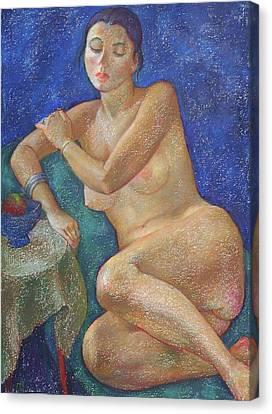 Nu 31 Canvas Print by Leonid Petrushin