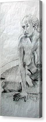 Nude 4794 Canvas Print by Elizabeth Parashis