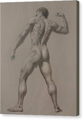 Nude-8 Canvas Print by Valeriy Mavlo